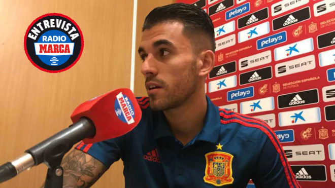 Real Madrid and Spain's midfielder Dani Ceballos