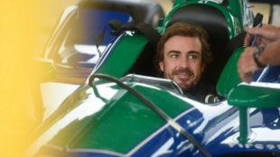 Fernando Alonso, en el Barber Park de Alabama.