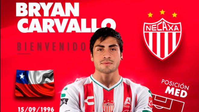 Bryan Carvallo reforzará el mediocampo de los Rayos.