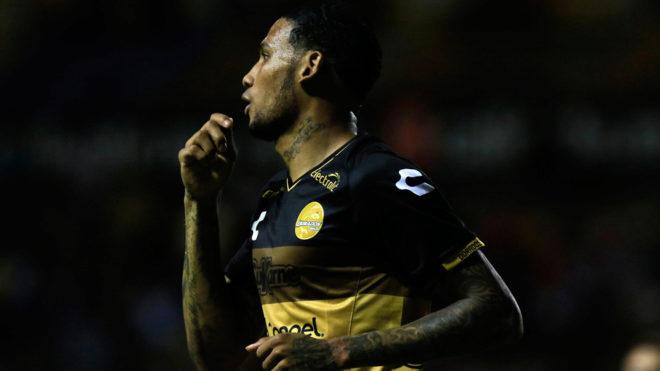 Vinicio Angulo marcó el único gol del partido.