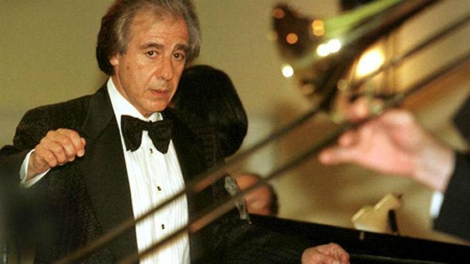 El compositor argentino Lalo Schifrin