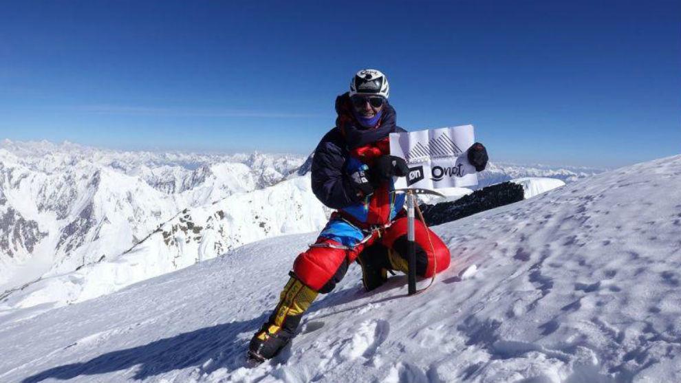 Sergi Mingote, en una expedición