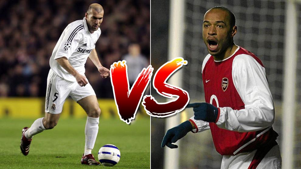 Zidane and Henry