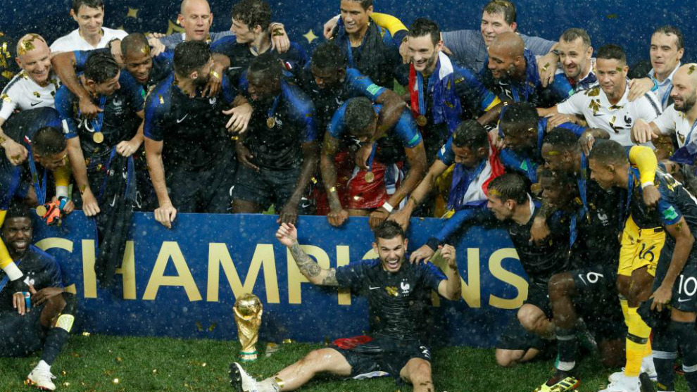 Francia, actual campeón del mundo, se enfrenta a Alemania en el...
