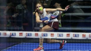 Alejandra Salazar, en su debut en el Lugo Open