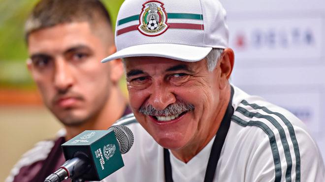Ricardo Ferretti habla sobre el duelos amistoso ante Uruguay