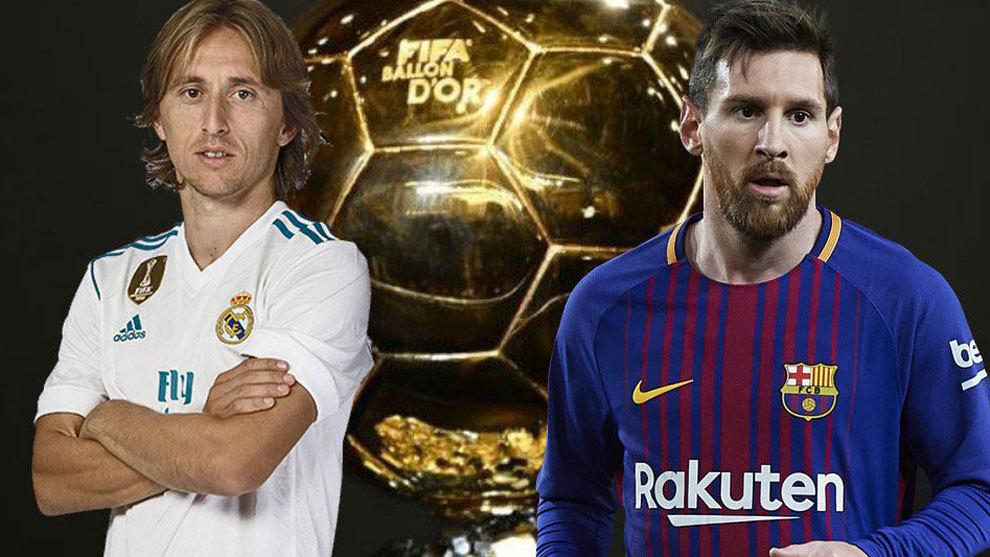 Modric and Messi