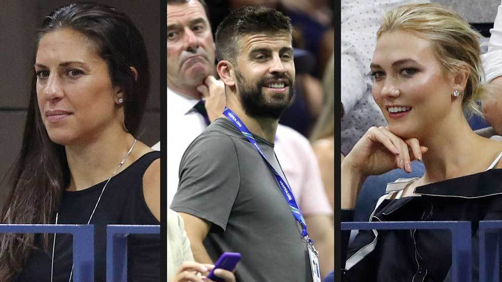Pique shines at the US Open among movie stars and fashionistas