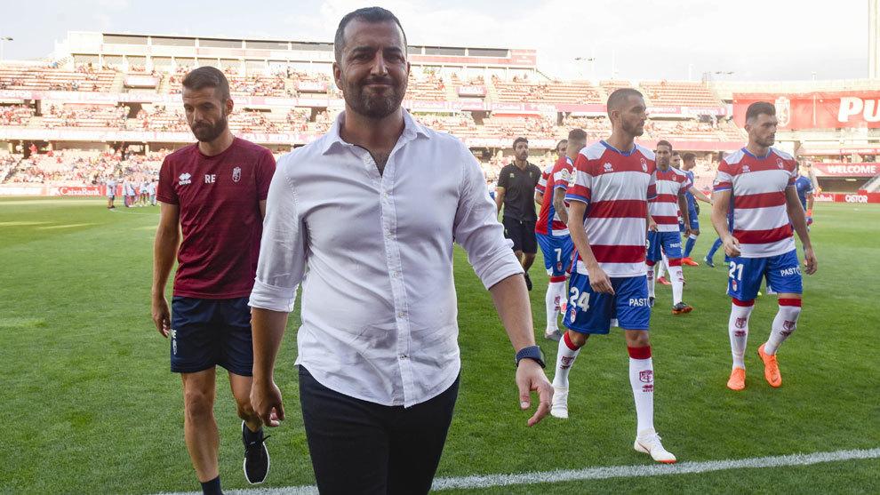Diego Martínez se muestra prudente respecto al comienzo de liga del...