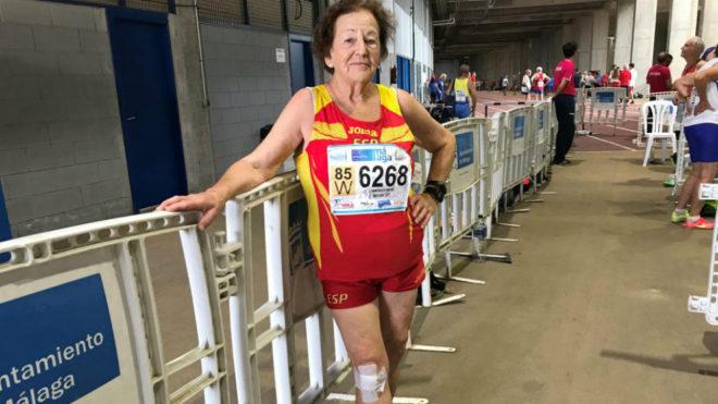 María Luisa González, la española de mayor edad (85 años) que...