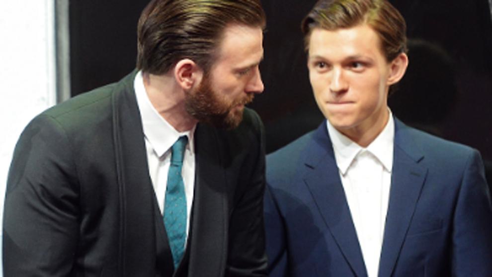 Chris Evans y Tom Holland volverán a coincidir tras la saga Marvel