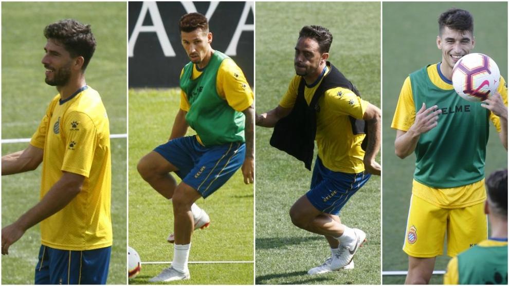 Dídac Vilà, Hernán Pérez, Sergio García y Marc Roca.