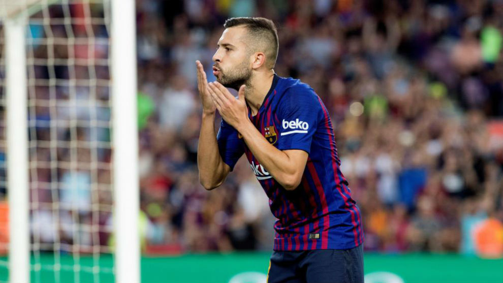 Jordi Alba: I want to stay at Barcelona for life