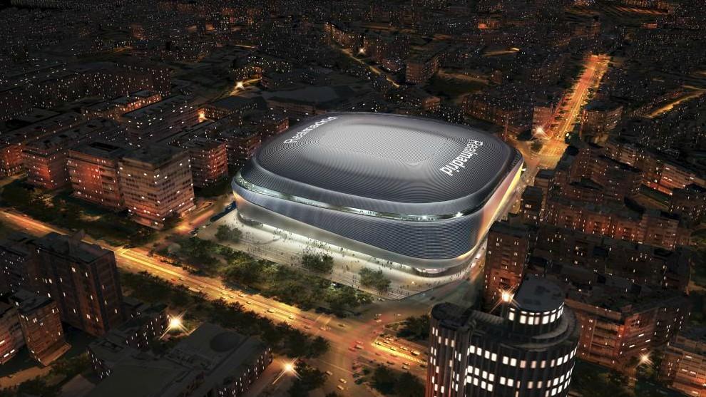 The new Estadio Santiago Bernabeu is coming