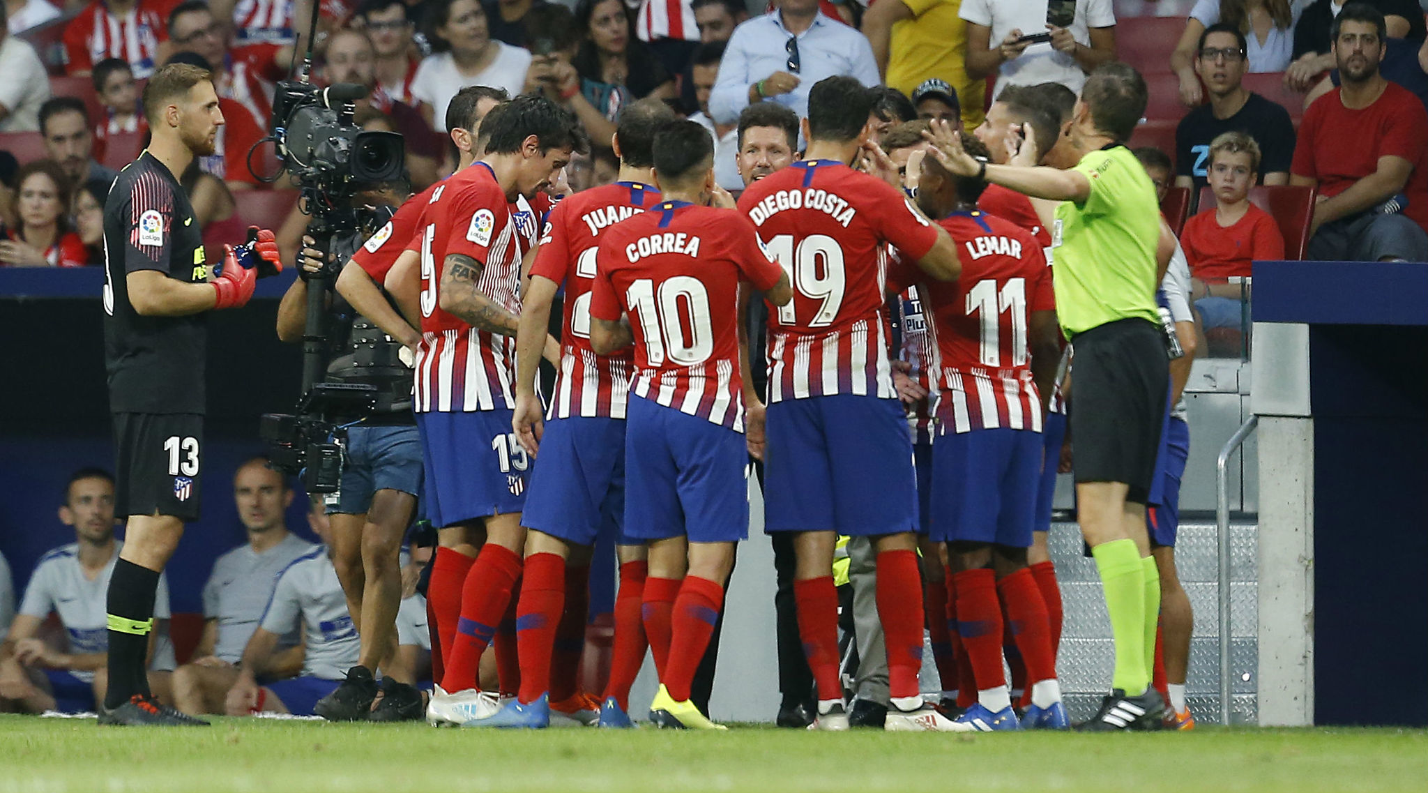 Atletico Madrid players