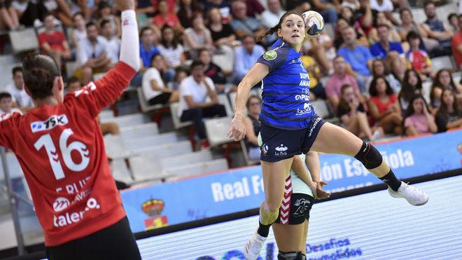 Maitane Etxeberría, en la reciente Supercopa /