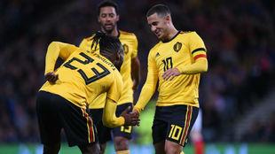 Batshuayi y Hazard celebran el 0-3
