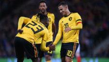 La Bélgica de Hazard y Roberto Martínez se da un festín en Escocia