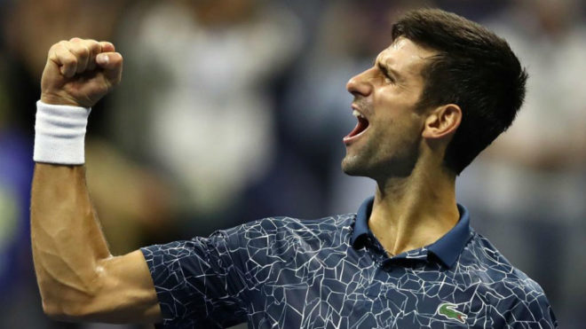 Novak Djokovic, tras ganar a Nishikori