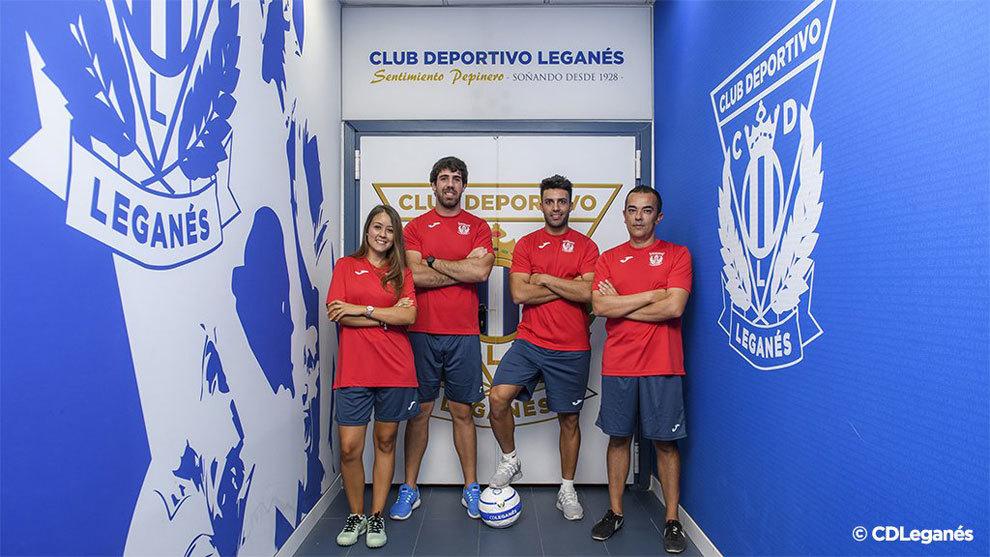 El CD Leganés femenino, ilusionado ante el inicio de la temporada.
