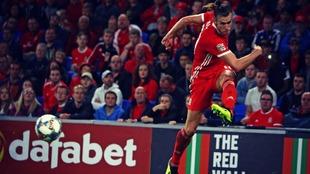Bale está en racha ya que ha conseguido 14 goles en los últimos 15...
