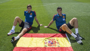 London based Alonso and Morata part of Luis Enrique's new Spain squad to face England