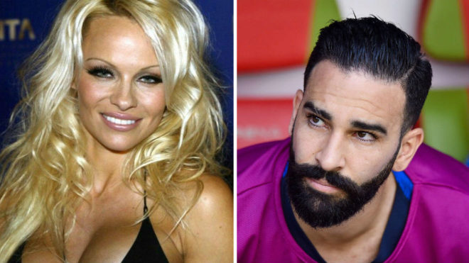 Pamela Anderson splits with Marseille defender Adil Rami