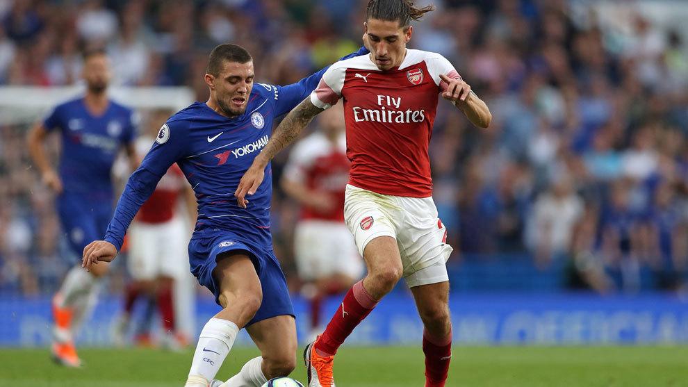 Arsenal right-back Hector Bellerin