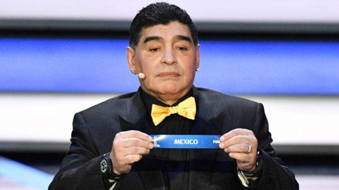 Maradona será presentado el lunes como DT de Dorados