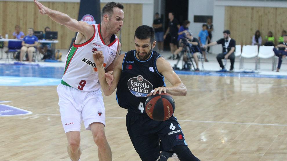 Aleksandar Cvetkovic es uno de los jugadores tocados en el Breogán