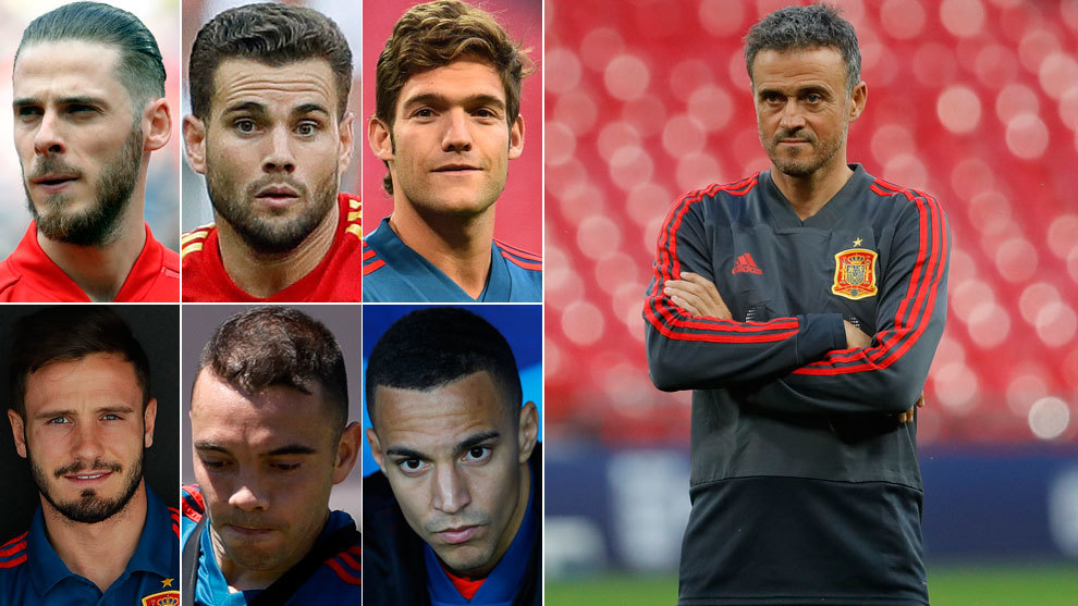Many changes for Luis Enrique's debut
