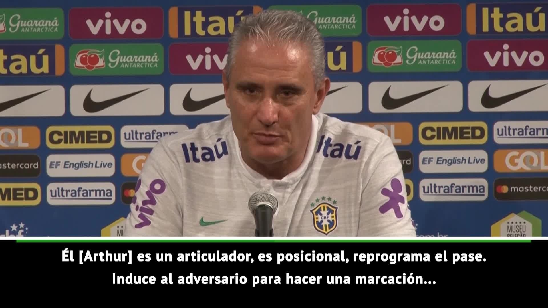 Tite was very pleased with Arthur