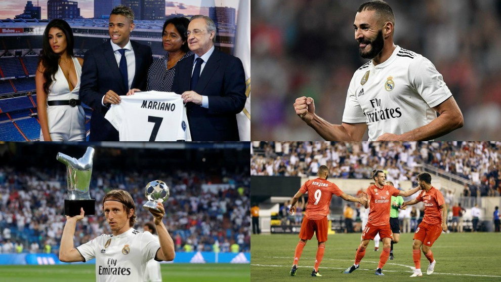 Real Madrid have had to replace Ronaldo in multiple different ways