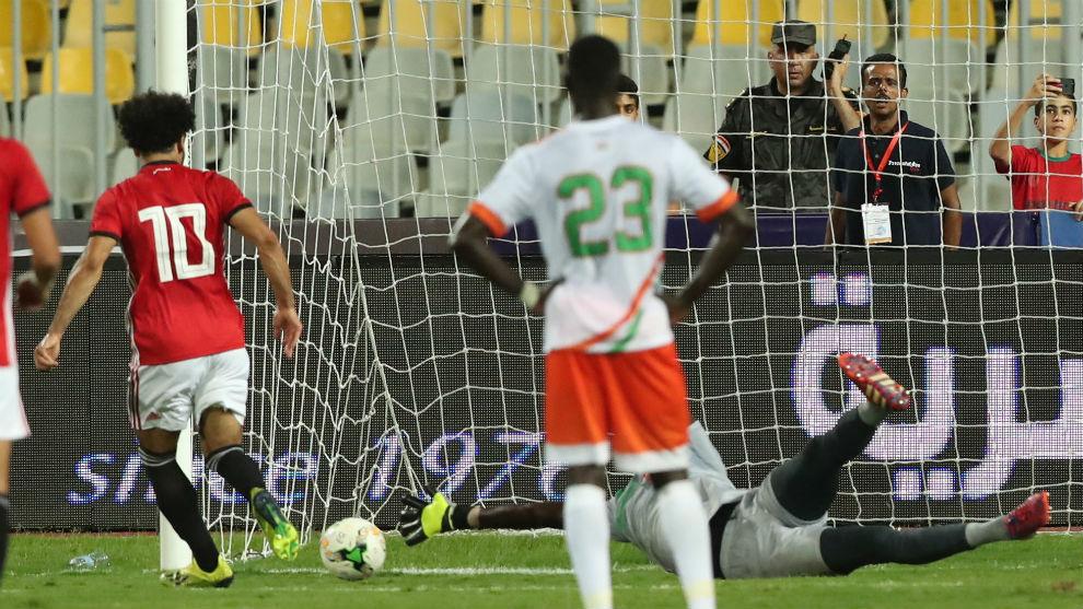 Javier Aguirre debuta con goleada de Egipto y doblete de Salah