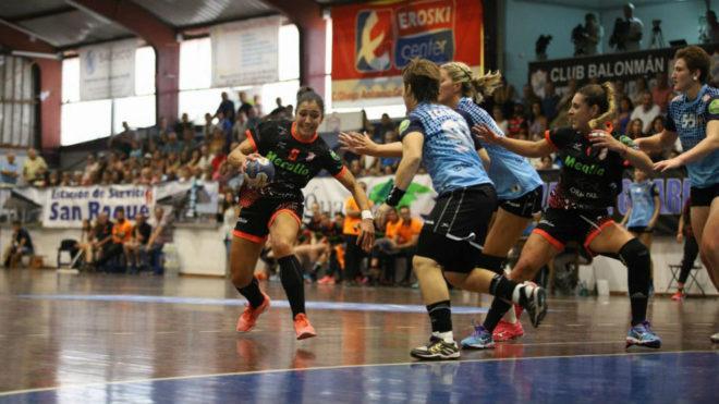 Un momento del partido entre el Atlético Guardés y el Canyamelar