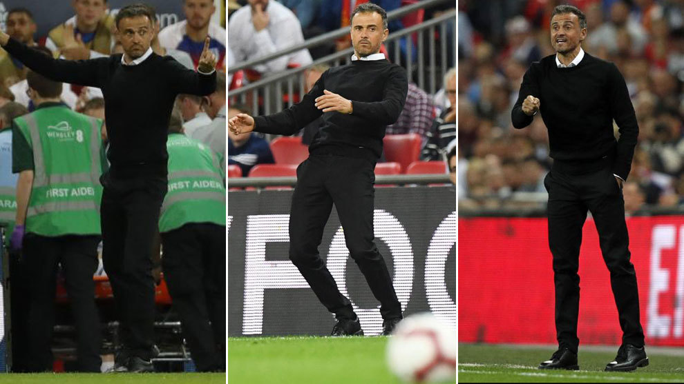 England 1 - 2 Spain: Luis Enrique's 90 minutes of restlessness ...