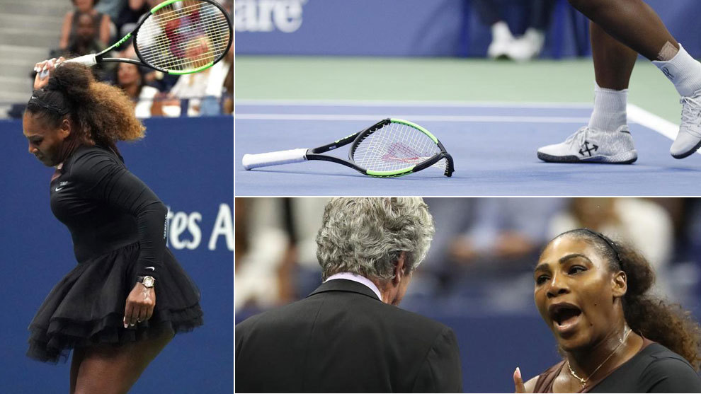 Serena Williams loses cool with umpire