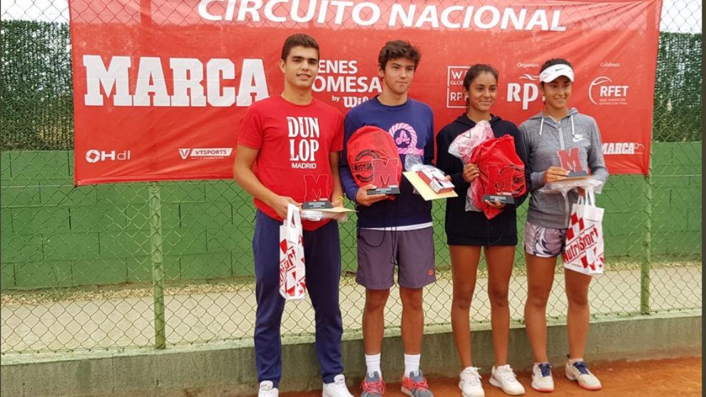 Campeones y finalistas en el C.T. Albacete