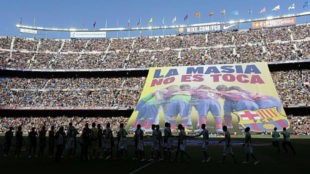Where are the Barca youngsters affected by the FIFA ban now?