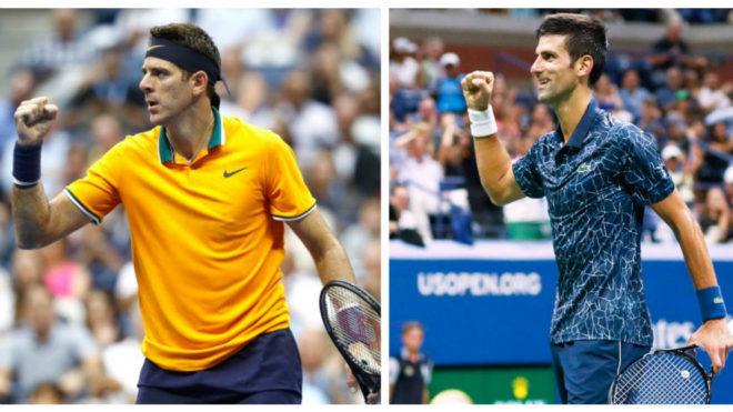 Del Potro y Djokovic, mano a mano en busca del US Open