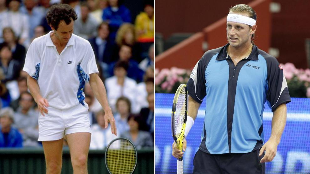 John McEnroe and David Nalbandian.