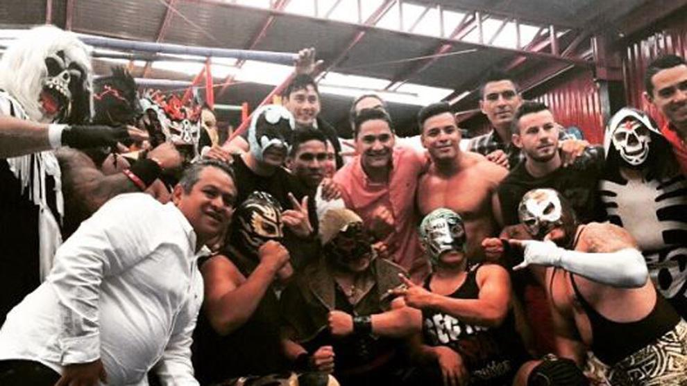 Moisés Muñoz y su gusto por la Lucha Libre.
