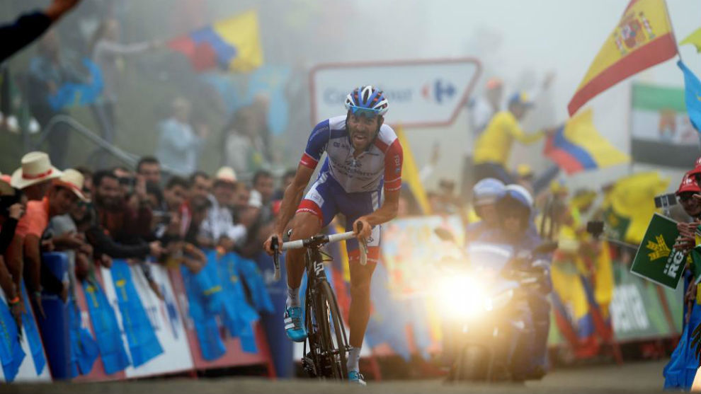 Thibaut Pinot took the day's glory