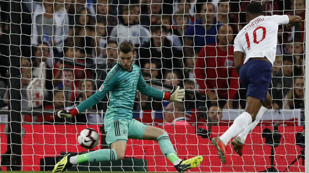 David de Gea answered his critics with an outstanding performance