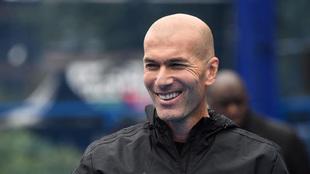Zidane, en una imagen reciente