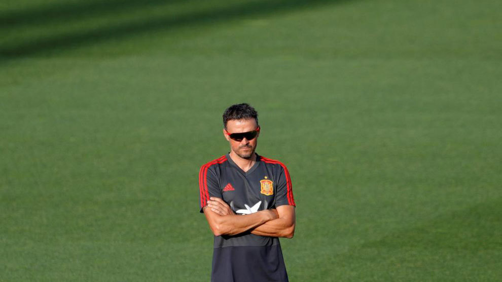 Luis Enrique's first concession to his Spain players