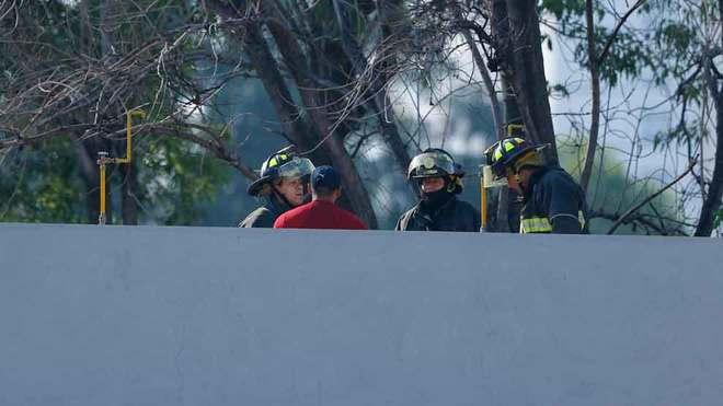 El cuerpo de bomberos hizo una inspección en las instalaciones.