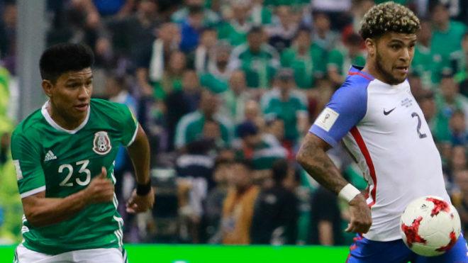 Estados Unidos se llevó el triunfo ante México