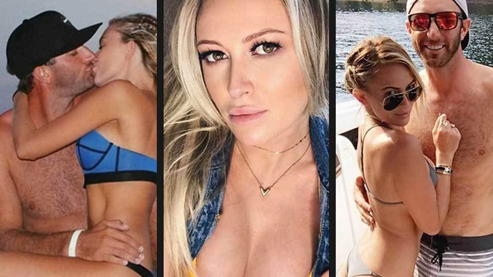 Paulina Gretzky hs wiped out all the photos of golfer Dustin Johnson...