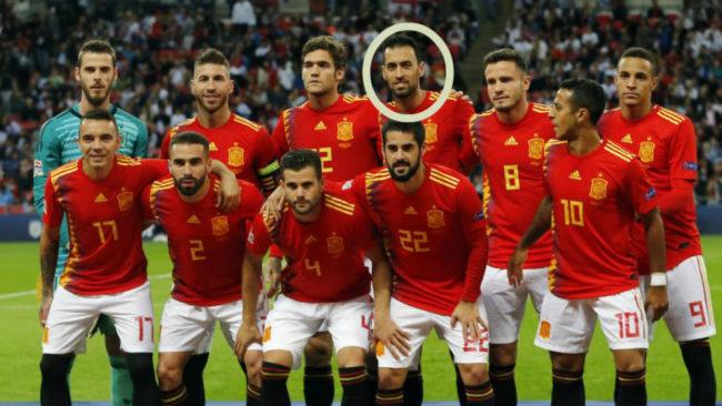 Los jugadores de España que salieron contra Inglaterra; sólo...